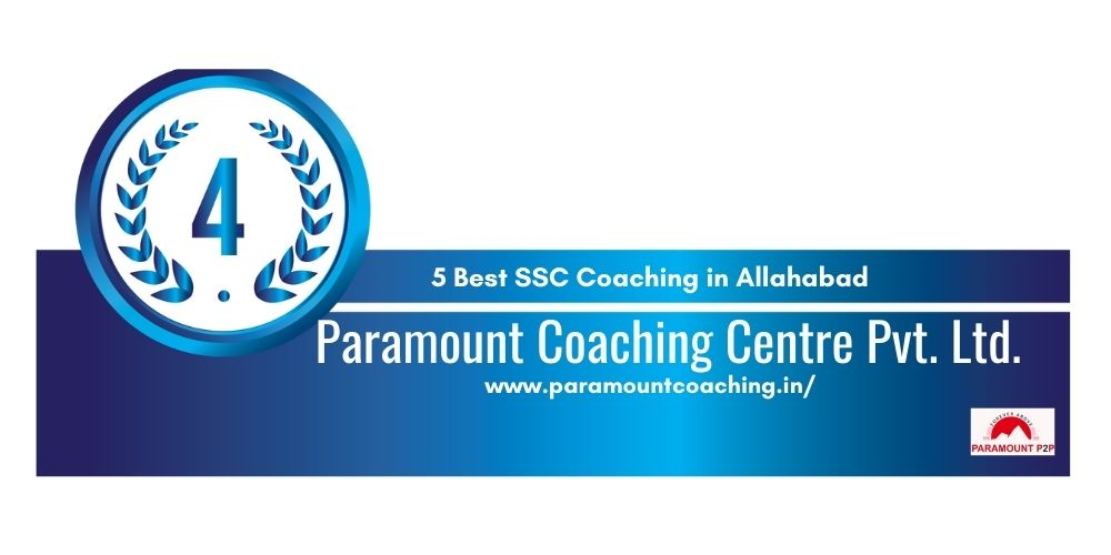 Rank 4 Coaching for SSC in Allahabad