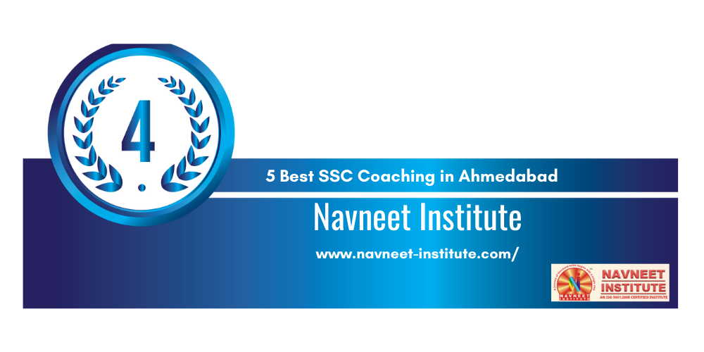 Rank 4 SSC Institute in Ahmedabad