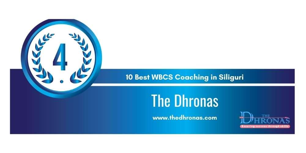 Rank 4 in 10 Best WBCS Coaching in Siliguri