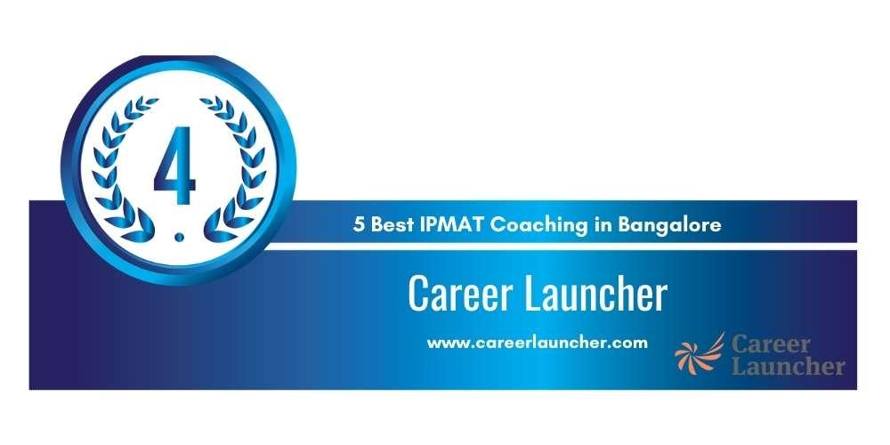Career Launcher Bangalore at Rank 4