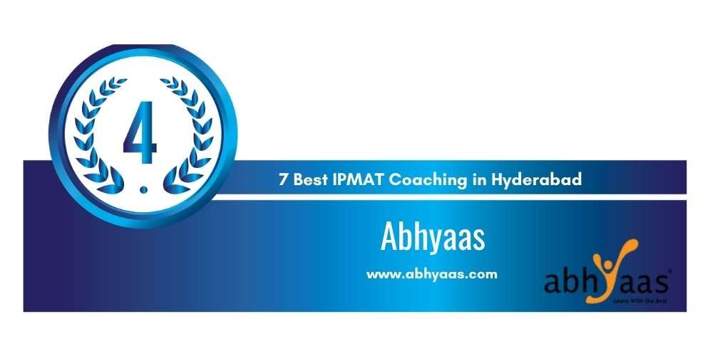 Rank 4 in 7 Best IPMAT Coaching in Hyderabad