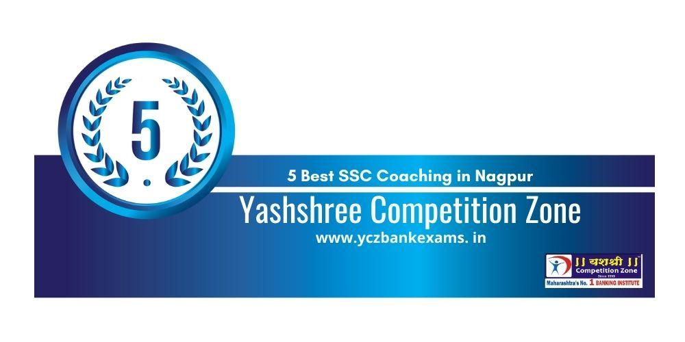 Rank 5 SSC Coaching classes in Nagpur