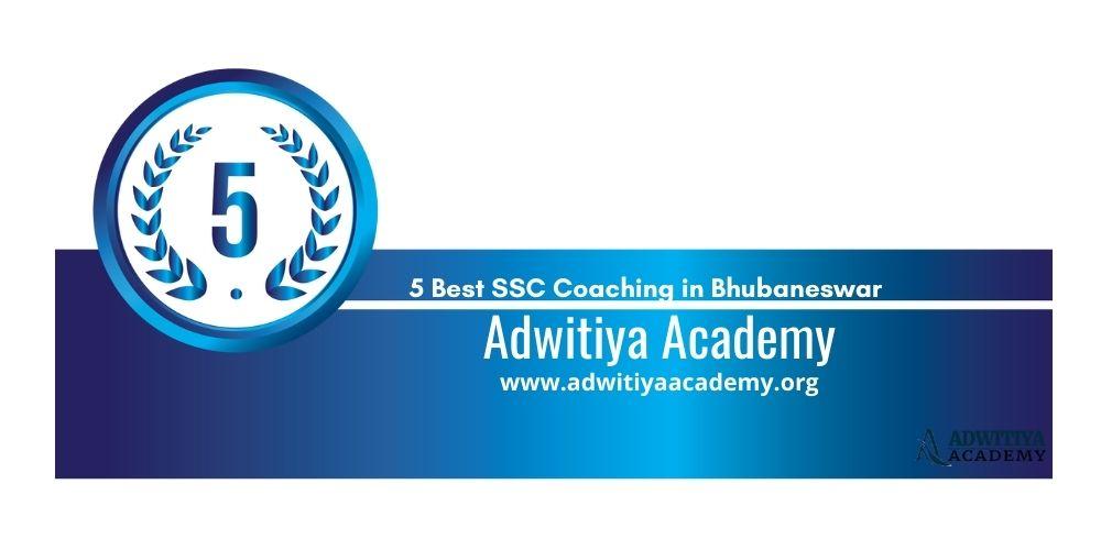 Rank 5 SSC Coaching in Bhubaneswar