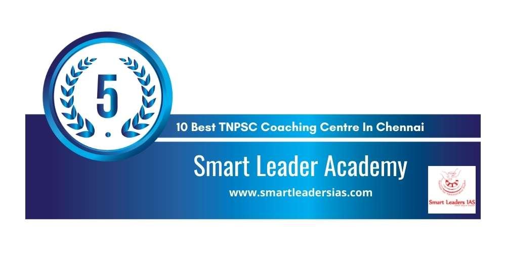 Rank 5 in 10 Best TNPSC Coaching Centre in Chennai