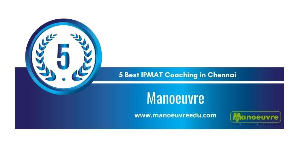 Rank 5 in 5 Best IPMAT Coaching in Chennai