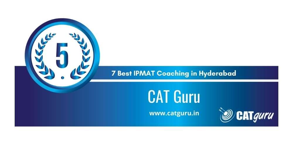 Rank 5 in 7 Best IPMAT Coaching in Hyderabad