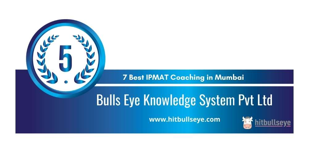 Bulls Eye Knowledge System Pvt Ltd Mumbai at Rank 5