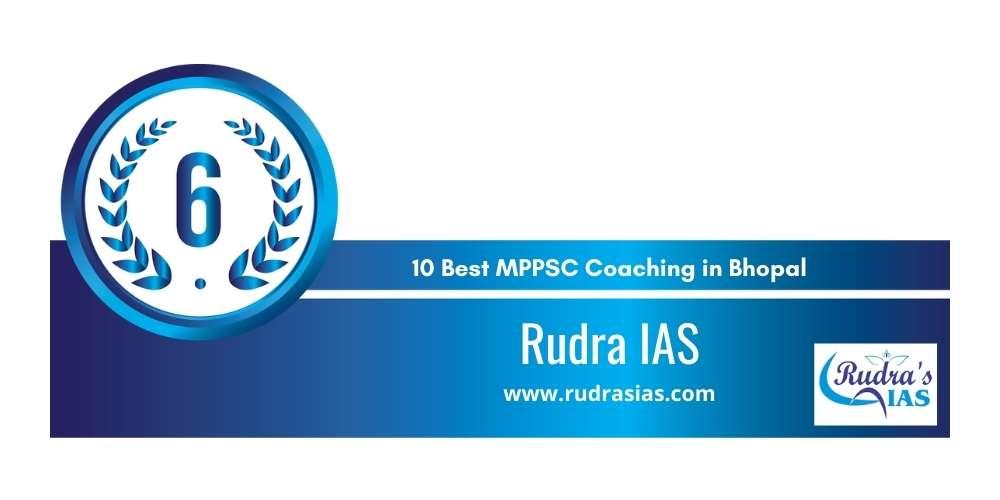 Rank 6 in 10 Best MPPSC Coaching in Bhopal
