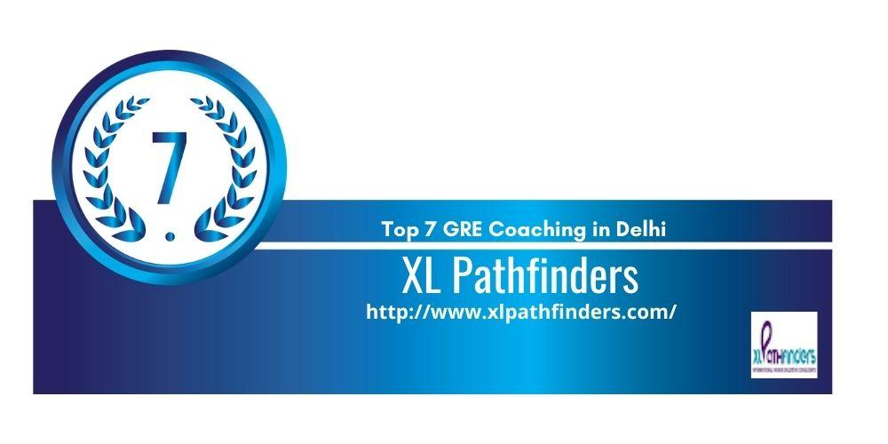 Rank 7 GRE Coaching in Delhi