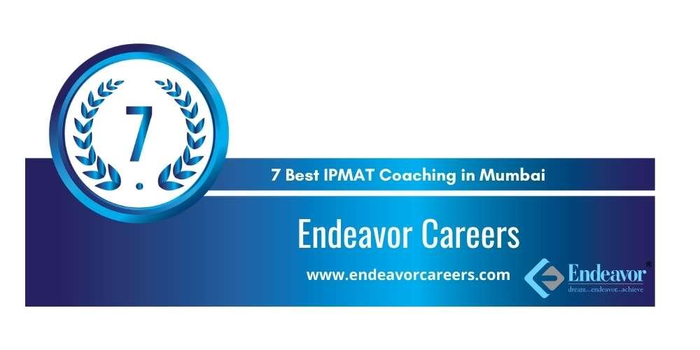 Endeavor Careers Mumbai at Rank 7
