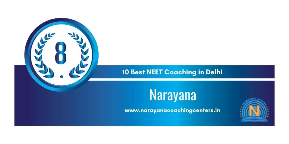 Narayana Delhi at Rank 8