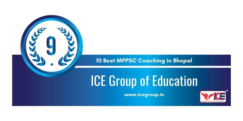 ICE Group of Education Bhopal at Rank 9