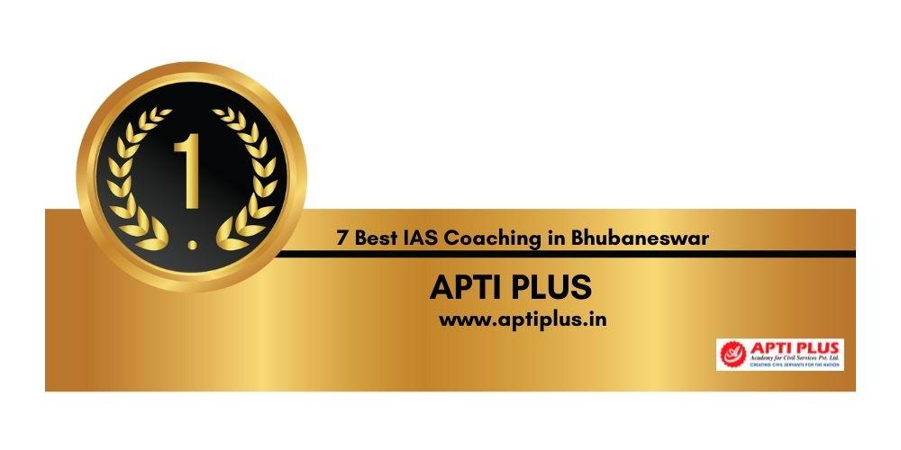 Rank 1 Best IAS Coaching in Bhubaneswar