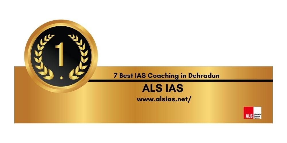 Rank 1 Best IAS Coaching in Dehradun