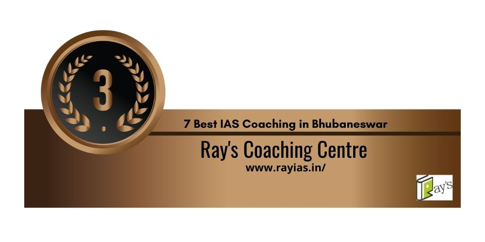 Rank 3 IAS Coaching in Bhubaneswar