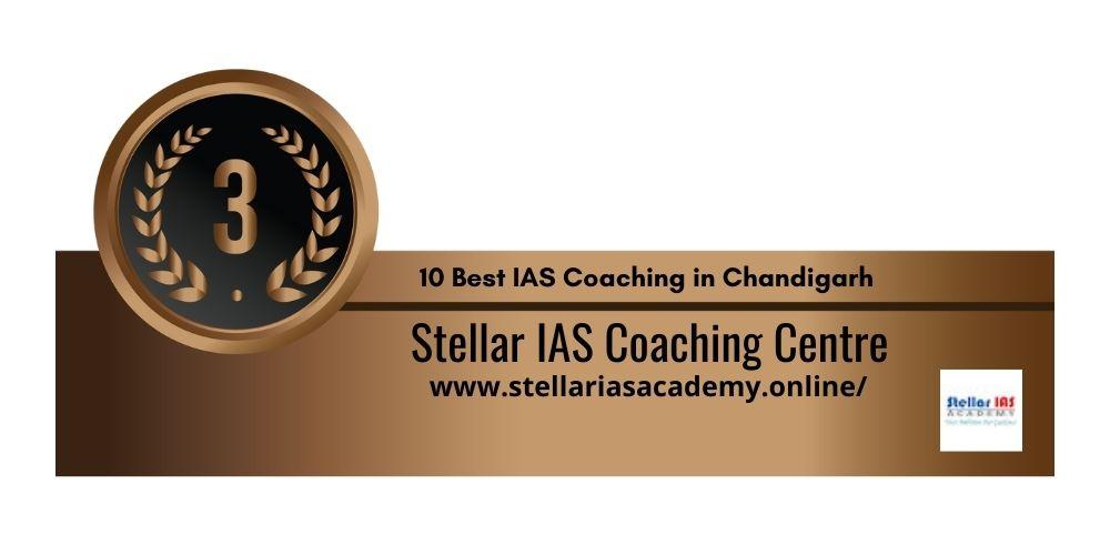 Rank 3 IAS coaching in chandigarh