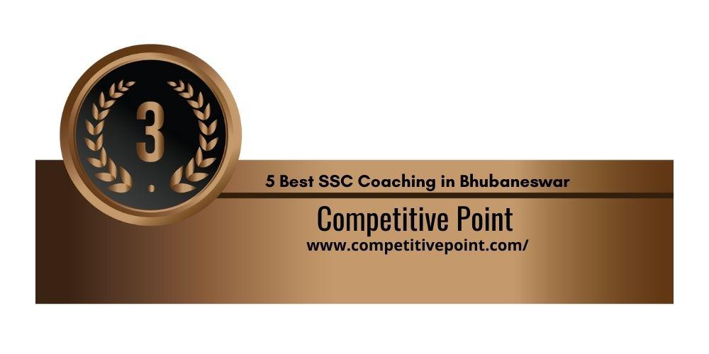 Rank 3 SSC Coaching Centre in bbsr