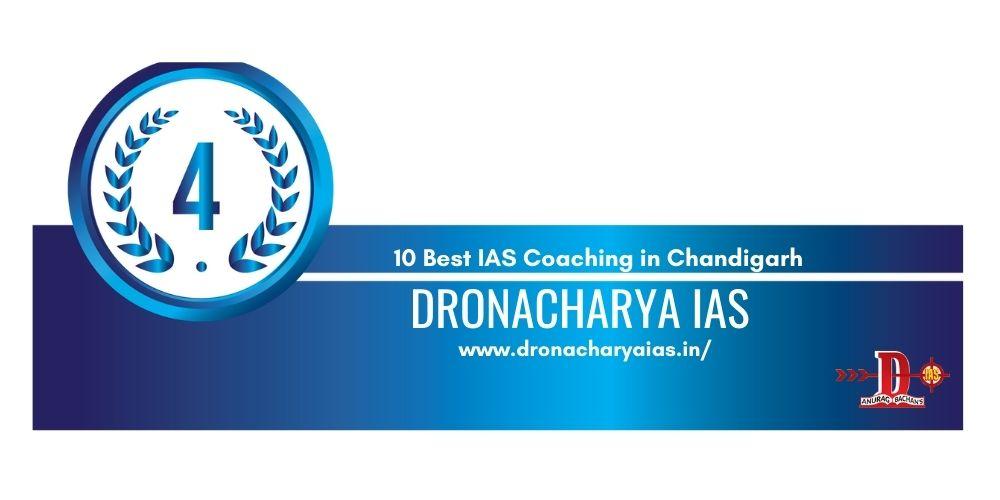 Rank 4 IAS coaching in chandigarh
