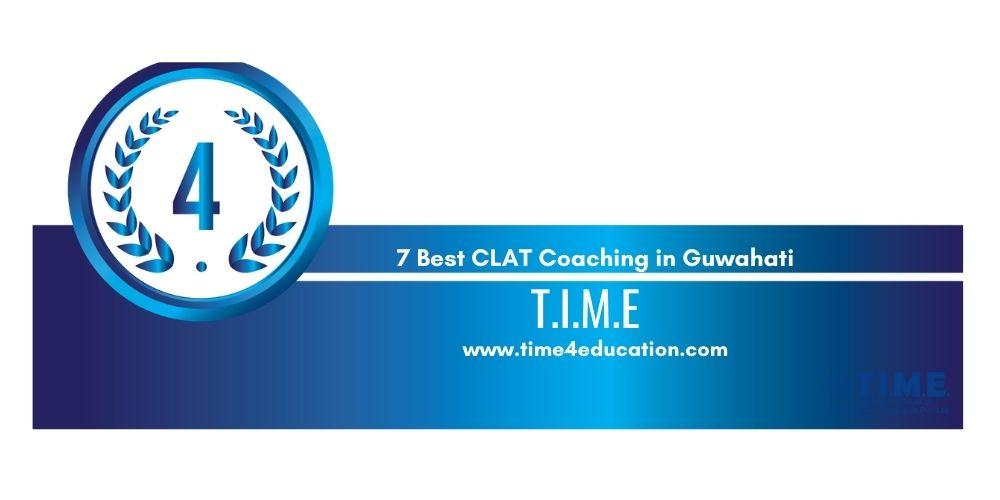 Rank 4 coaching for CLAT in guwahati