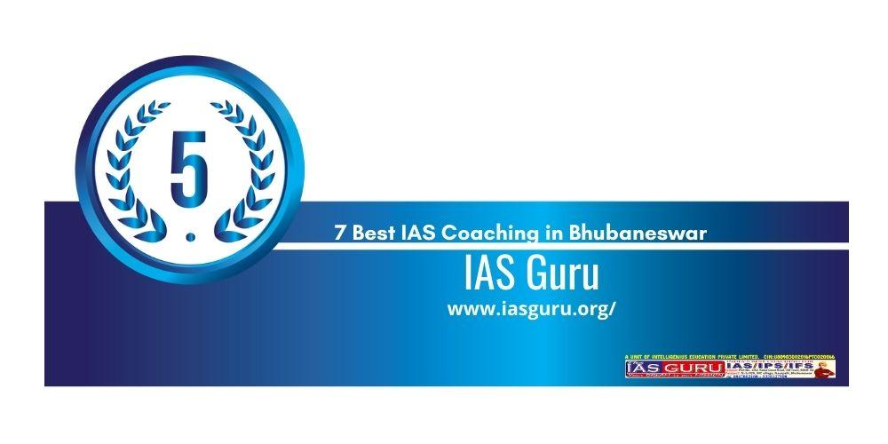 Rank 5 upsc coaching in bhubaneswar