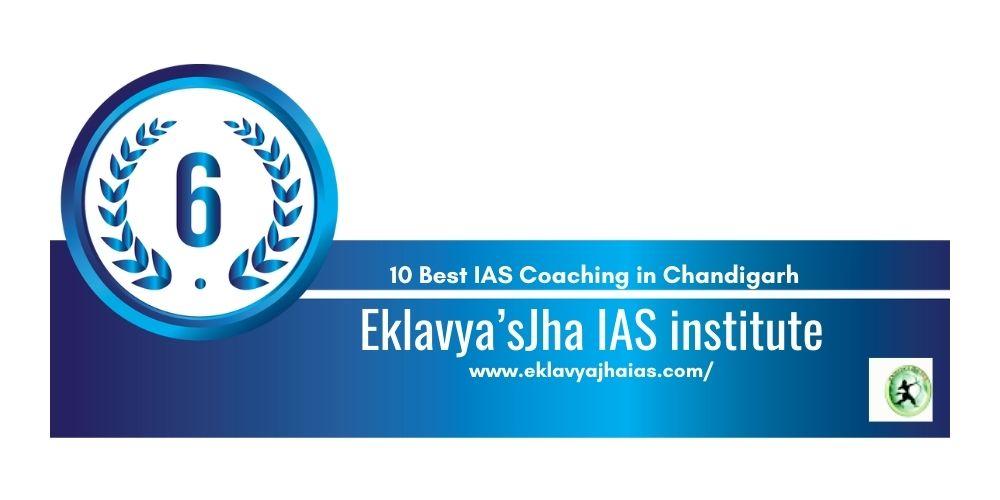 Rank 6 UPSC coaching in Chandigarh