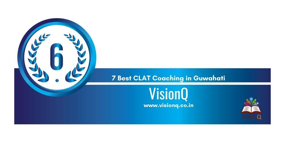 Rank 6 clat coaching in guwahati