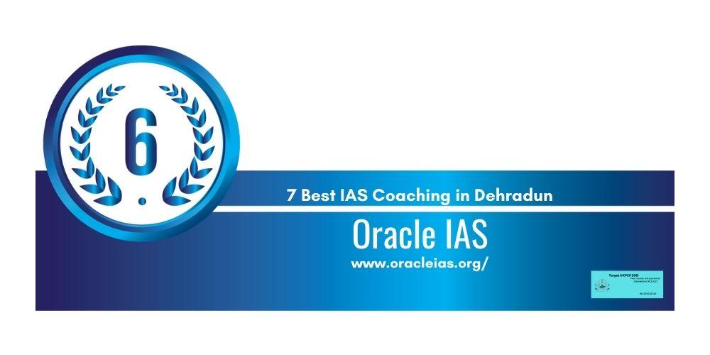 Rank 6 coaching institute for ias in dehradun