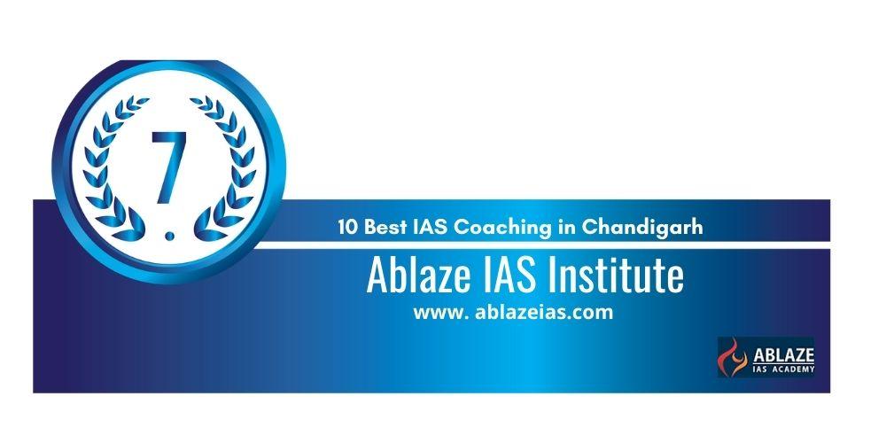Rank 7 UPSC coaching in Chandigarh