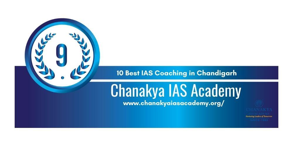 Rank 9 UPSC coaching in Chandigarh